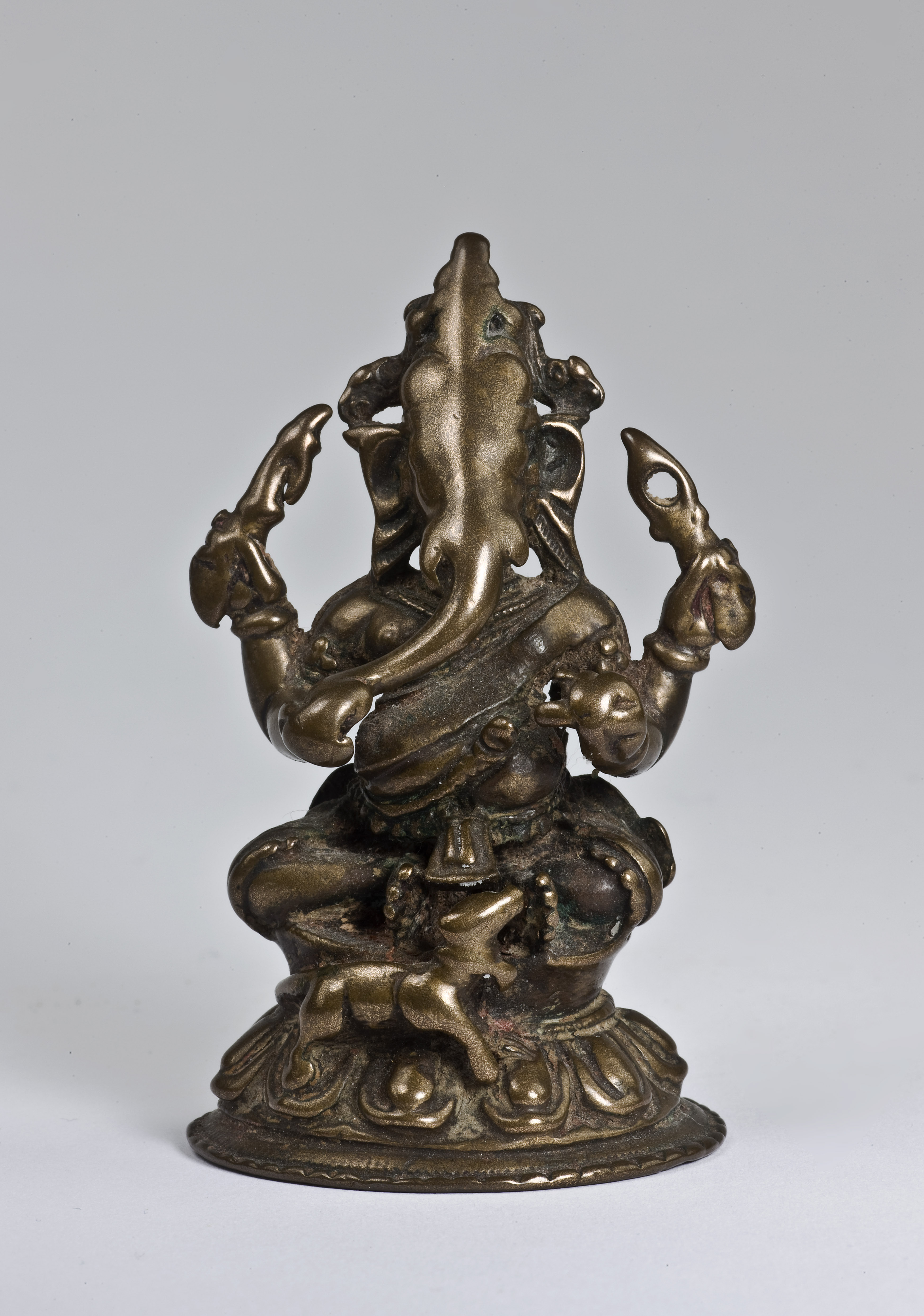 Bronze Seated Ganesha