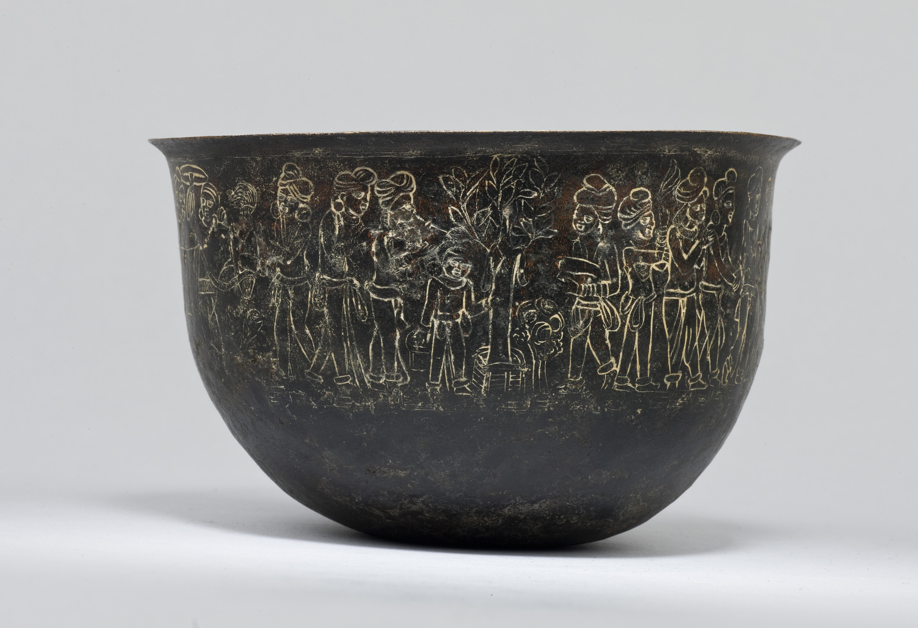 Indian Copper Bowl