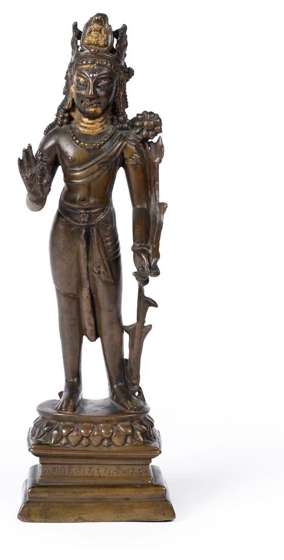 Bronze Standing Padmapani