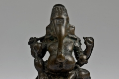 chola bronze seated Ganesha