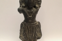 Kashmirian fragmentary chlorite  figure of Karttikeya - DO NOT USE